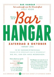 bar hangar flyer